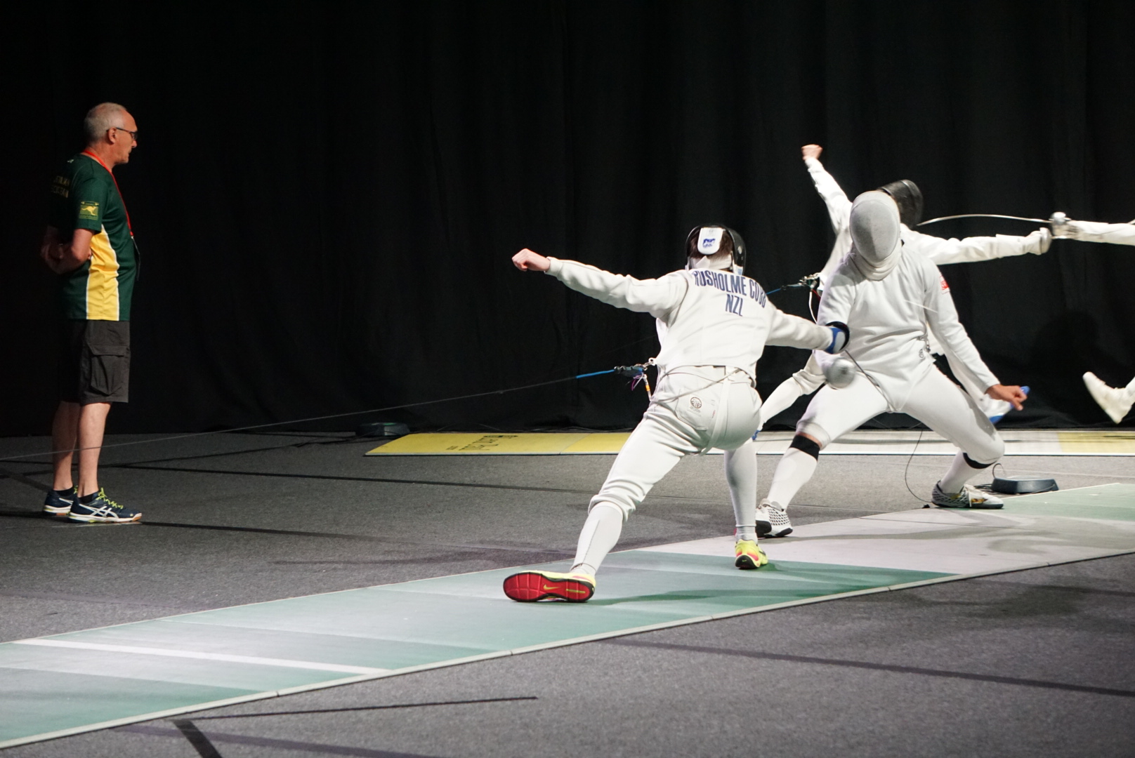 Fencing Isaac Rusholme Cobb 1